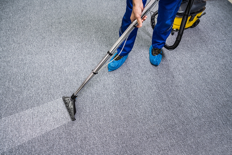 image of office carpet cleaning omaha